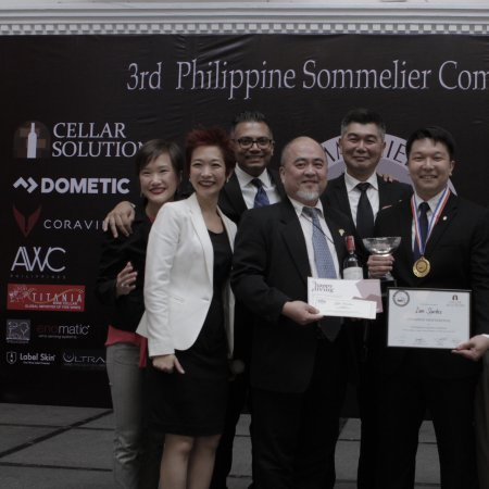 Vatel Bags Awards at the 3rd Philippine Sommelier Competition - Vatel