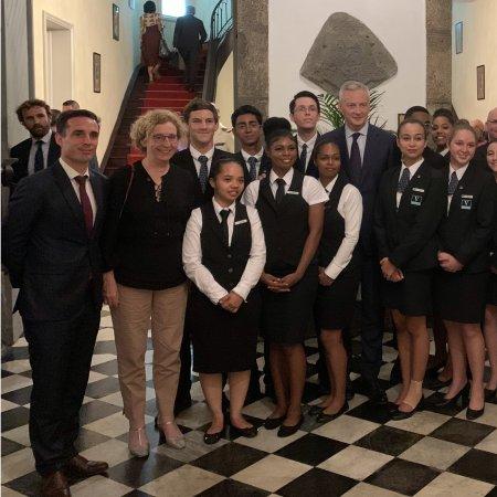 Vatel Réunion au service du Président de la République