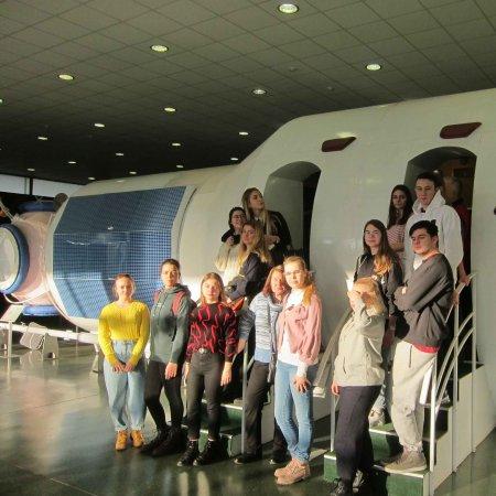 Студенты Ватель в научно-туристской экспедиции в Калужской области.