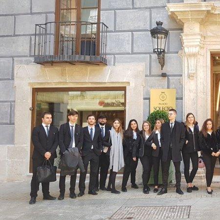 Visita al Hotel Palacio Solecio Málaga