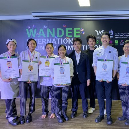 Vatel Thailand Students Won Medals at International Culinary Competition