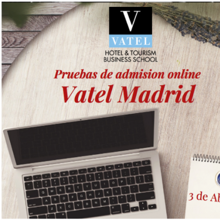 Online admission exams April 3rd, 2020 - Vatel