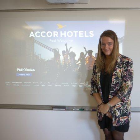 'Les étudiants Vatel touchent à tous les métiers de l'Hôtellerie-Restauration et ils font des stages très formateurs'