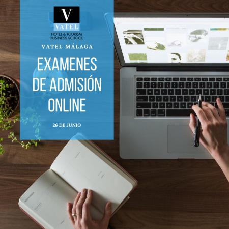 Pruebas de admisión online 26 de junio 2020