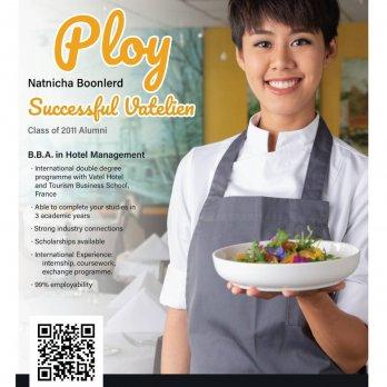 Ms. Natnicha Boonlerd (Ploy) - Vatel