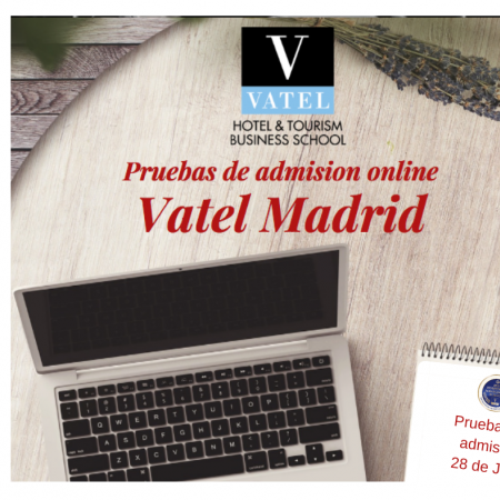 Online admission exams July 28th, 2020 - Vatel
