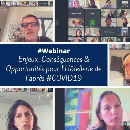 Covid-19 - Vatel Bordeaux aide ses étudiants à travers des webinaires & ateliers