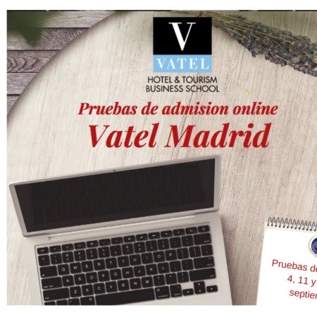 Last online admission exams september 4th, 11th and 18th, 2020 - Vatel
