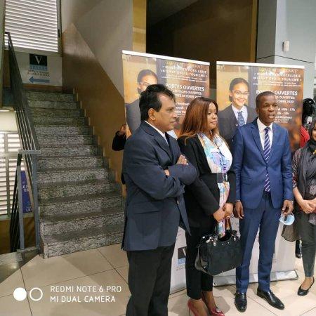 Le Ministre du Tourisme de la RDC Mr. Yves Bunkulu visite Vatel Kinshasa
