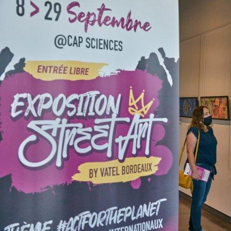 Coup d'envoi de la 2ème édition de l'exposition du Concours Street Art by Vatel Bordeaux