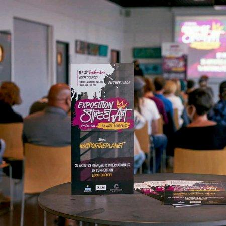 Les lauréats de la 2nd édition du Concours Street Art by Vatel Bordeaux sont… ?