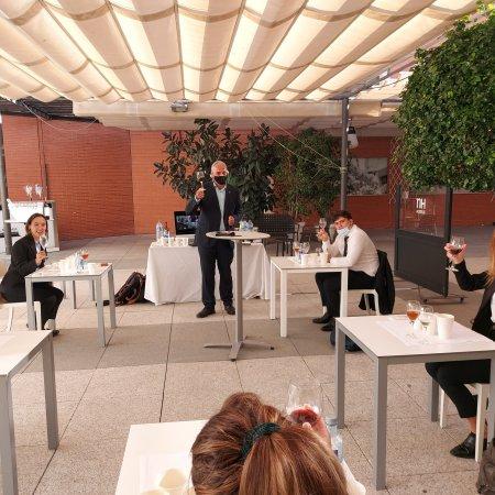 Cata de Vinos en el Hotel NH Málaga