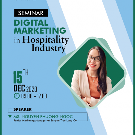 Seminar Digital Marketing in the Hospitality Industry