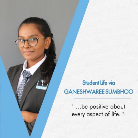 Student life as seen by Ganeshwaree Sumbhoo