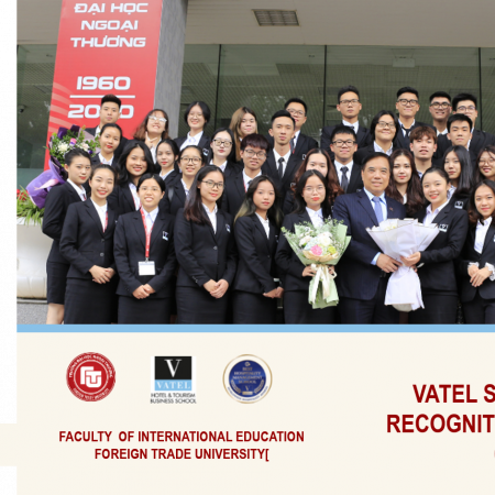 VATEL STUDENTS RECEIVED RECOGNITIONS FROM 5* HOTEL & CUSTOMERS