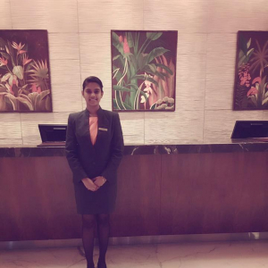 Anu Ilakiyya, Vatel Singapore Bachelor's Degree: Courtyard by Marriott Chennai