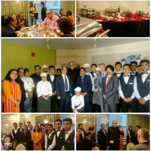 Vatel India (New Delhi) Visit of Justice Markandey Katju to School of Law and Workshop on AWADHI Cuisine