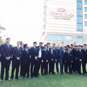 Vatel India (New Delhi) Industrial Visit: Crown Plaza Hotel, Gurgaon
