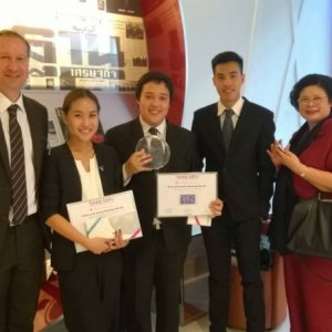 Vatel Mauritius And the winner is Vatel Bangkok!