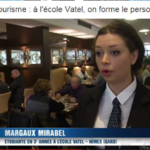TF1 TV interviews Vatel