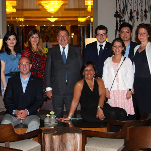 Vatel Madrid Vatel Club Ambassadors meet to work together on dynamic networking
