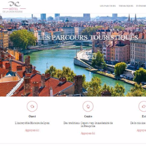 Tourism, Web & Marketing: on the slopes of Lyon's Croix Rousse