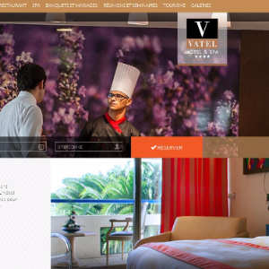 Vatel France Responsive, Vatel Hotels are up-to-date on the web too