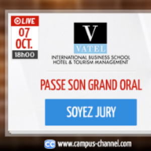 Vatel France Vatel, live on the Campus Channel