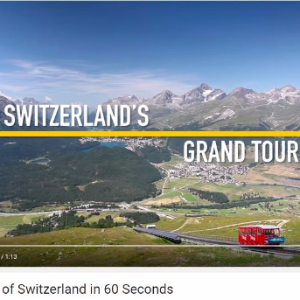 Vatel Switzerland A tour of Switzerland in 60 seconds