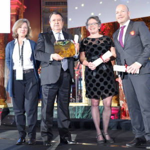 "Vatel Switzerland Vatel receives the ""Best Hospitality Management School"" award"