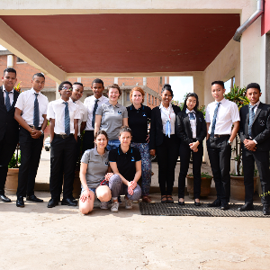 Vatel students welcome Malginfs