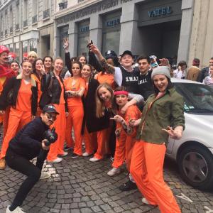Orange is the new blue ?!  - Vatel
