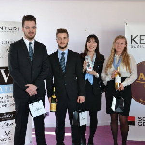 Vatel France Vatel Bordeaux partners with Kedge for the second L'Étiquette competition