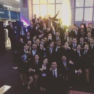 Vatel Switzerland Banquet avec les étudiants Vatel