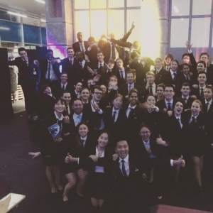 Vatel Switzerland Banquet with Vatel Students!