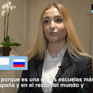 Vatel Madrid ¿Por qué elegí Vatel Madrid? | Anastasia Rusakova