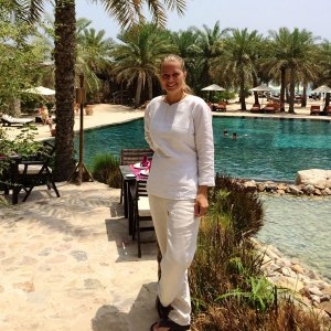 Vatel France Live from the Sultanate of Oman, Irene Fenart tells us her story