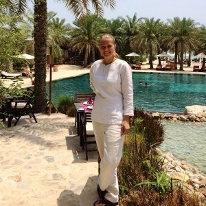 Live from the Sultanate of Oman, Irene Fenart tells us her story