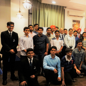 Vatel India (New Delhi) Workshop on Dining Etiquette's