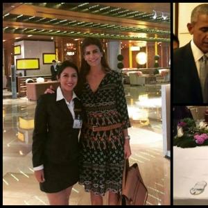 Vatel Argentina Ana Araujo recibe la Delegación Argentina en China para el Cumbre del G-20