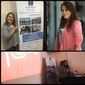Vatel Argentina Charla de Malena Guinzburg y Debora Abillera sobre hotelería, gastronomía y turismo de Peru