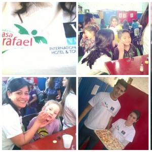 Vatel Argentina Acción solidaria de los estudiantes de Vatel Buenos Aires para el Día del Niño