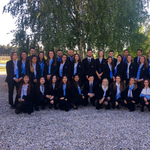 Vatel France Graduation ceremony at an exceptional host's  Château Haut-Lagrange