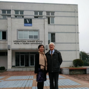 A teacher from Vatel Bordeaux made an intervention to Vatel's students Huangshan - Vatel