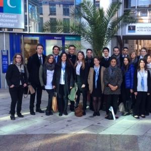 La classe de dernière année de MBA Directeur en Hôtellerie International fait sa rentrée  - Vatel
