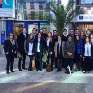 Final year MBA in International Hotel Management students go back to school - Vatel