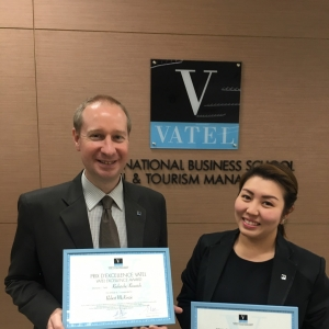 "Vatel Bangkok Vatel Thailand awarded CirVath's ""2016 Research Excellence Prize"""