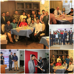 Vatel India (New Delhi) FAREWELL 2017