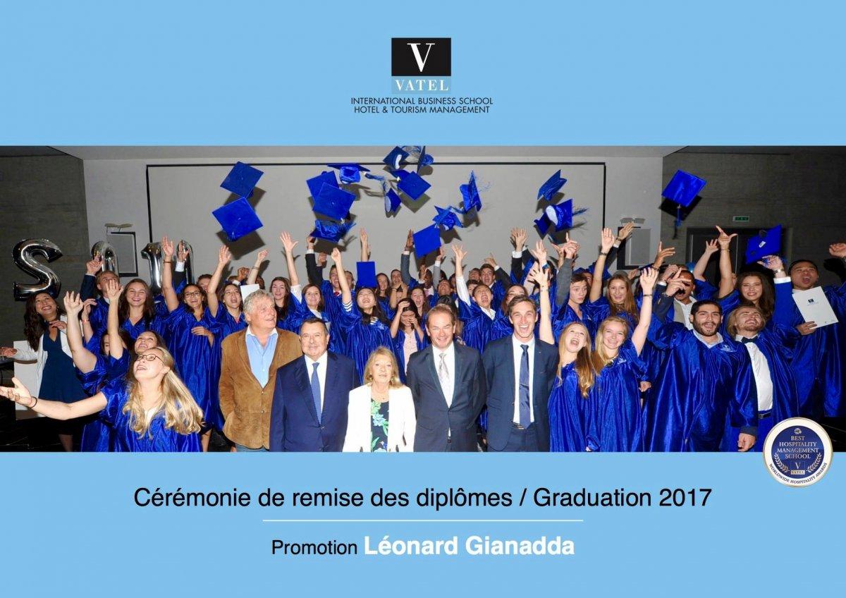 La remise des diplômes 2017