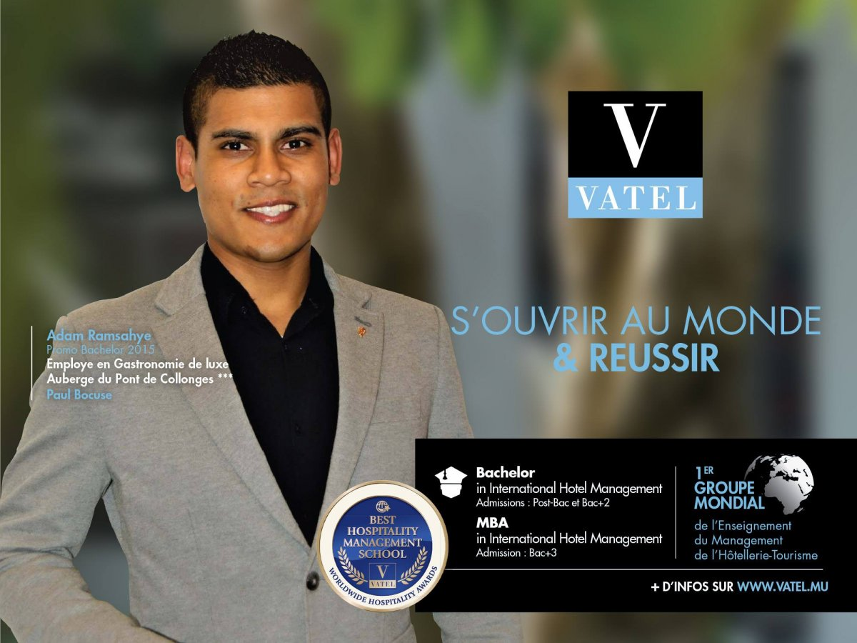 This week Vatel Mauritius celebrates passion, work and success.